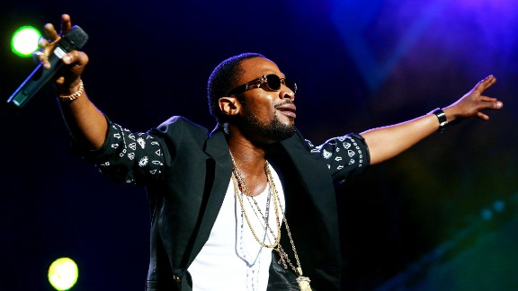 Nigerian singer D'Banj performs at the inaugural MTV All Africa Stars Concert in Durban, South Africa, in 2013.