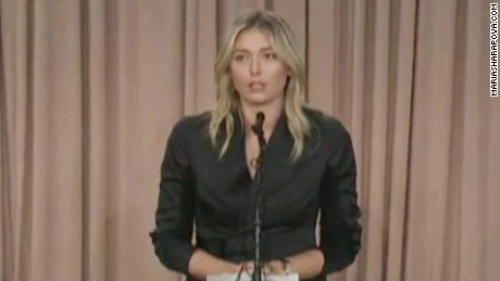Maria Sharapova: I have failed a drug test