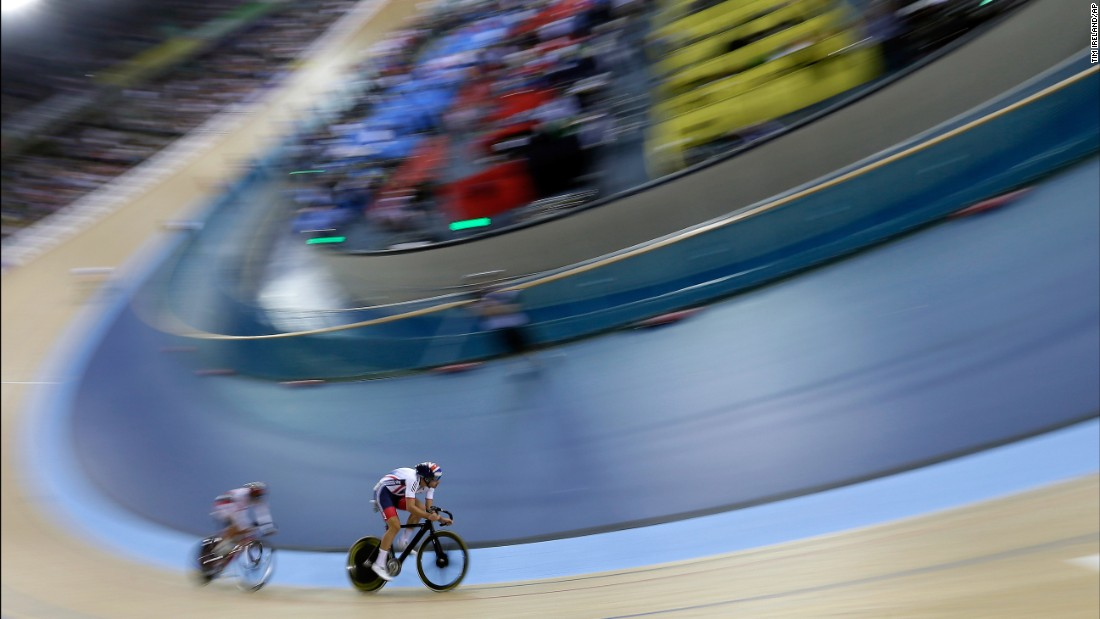British cyclist Jonathan Dibben wins gold in the points race at the Track Cycling World Championships on Friday, March 4.