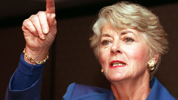In 1984, Geraldine Ferraro became the first woman to run on a major party