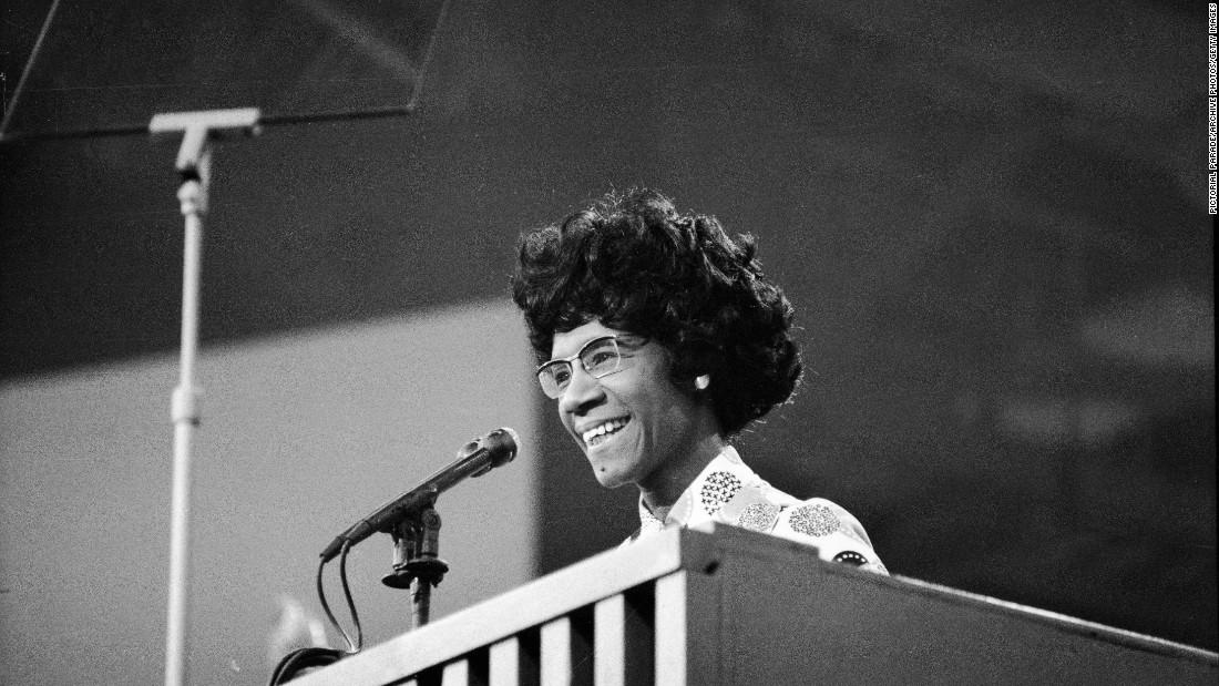 TBT: Shirley Chisholm,