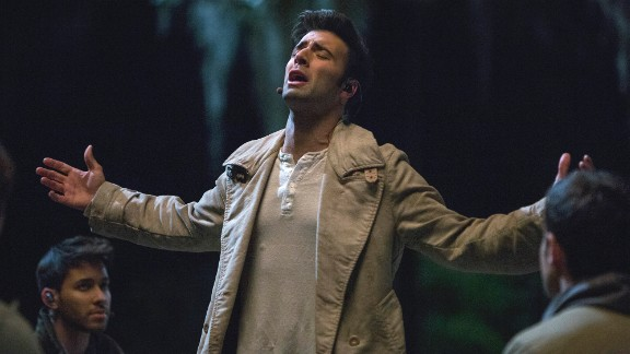 "Jencarlos Canela portrayed Jesus in the musical ""The Passion,"" which aired live on FOX on Palm Sunday in 2016."