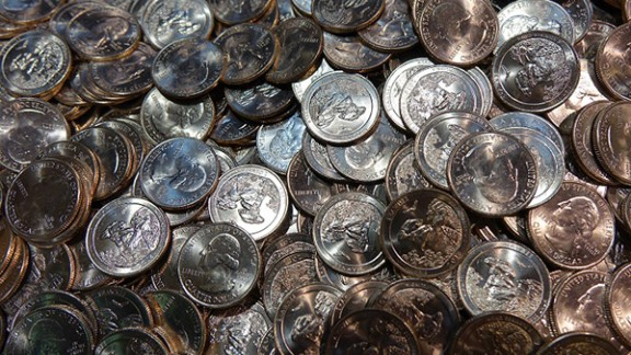 A Harpersville, Alabama, man made off with $196,000 in quarters, authorities say.