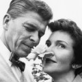 03 Ronald and Nancy Reagan at home RESTRICTED