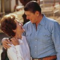 06 Ronald and Nancy Reagan at home RESTRICTED