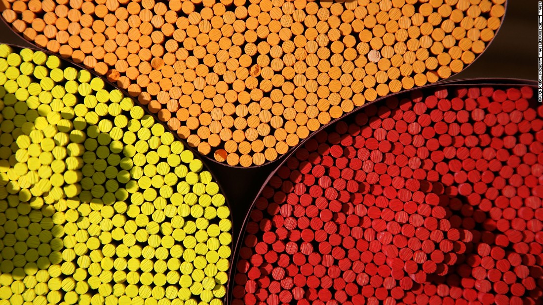 The Nigerian government is hoping that pencil production can revitalize an economy suffering from a downturn in oil prices.