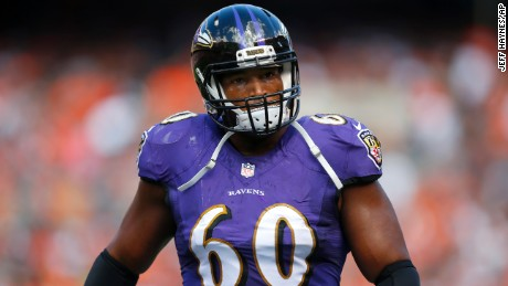 Baltimore Ravens tackle Eugene Monroe said many players rely on marijuana for pain relief.