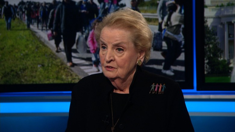 Albright: 'American dogs' treated better than refugees now