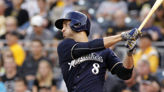Ryan Braun of the Milwaukee Brewers admitted to using performance-enhancing drugs in 2011, the year he was National League MVP. He said he took a cream and a lozenge with banned substances while recovering from an injury.