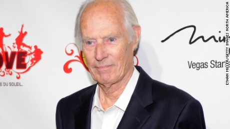 "LAS VEGAS, NV - JUNE 08:  Music producer Sir George Martin attends the fifth anniversary celebration of ""The Beatles LOVE by Cirque du Soleil"" show at The Mirage Hotel & Casino June 8, 2011 in Las Vegas, Nevada.  (Photo by Ethan Miller/Getty Images for Cirque Apple LLC)"