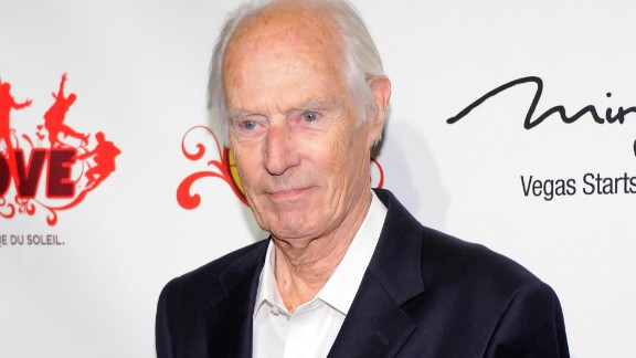 """LAS VEGAS, NV - JUNE 08:  Music producer Sir George Martin attends the fifth anniversary celebration of """"The Beatles LOVE by Cirque du Soleil"""" show at The Mirage Hotel & Casino June 8, 2011 in Las Vegas, Nevada.  (Photo by Ethan Miller/Getty Images for Cirque Apple LLC)"""