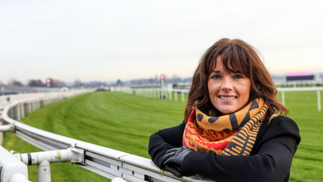 "Irish jockey Walsh will act as an ambassador for Ladies Day at the National for a second year running. She says of life as a jockey: ""If you find it hard getting out of bed early in the morning, then this isn't for you."""