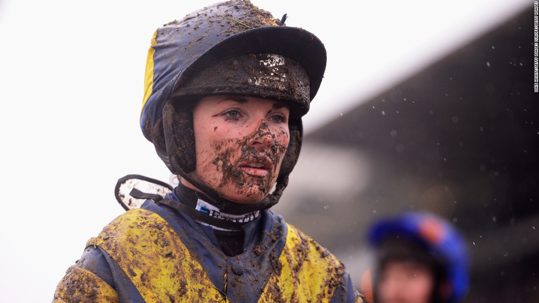 Walsh says she enjoys the rough and tumble of racing against predominantly male jockeys.
