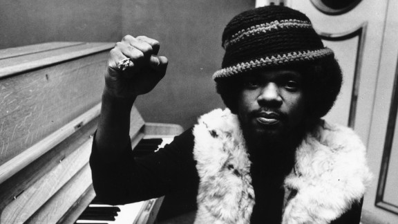 American piano prodigy Billy Preston.