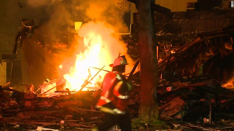 Explosion rips through Seattle building