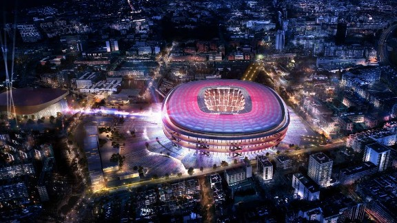 "The Camp Nou stadium, home to Spanish champion Barcelona, is getting an upgrade and the club has released images of the new design. Work is due to completed in the 2021/22 season. ""The proposal stands out for being open, elegant, serene, timeless, Mediterranean and democratic,"" a club statement said."