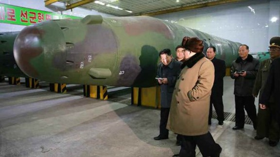 KCNA claims that Kim has visited a facility where warheads had been made to fit on ballistic missiles. CNN cannot independently verify the images accompanying the story.