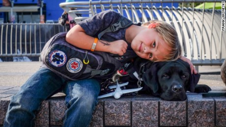 Luke and Jedi: A boy and his dog fight type 1 diabetes together