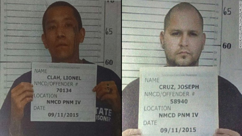 Manhunt on for New Mexico prisoner escapees