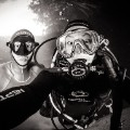 freediving selfie