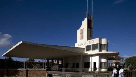 Asmara, the capital of Eritrea, has become the country