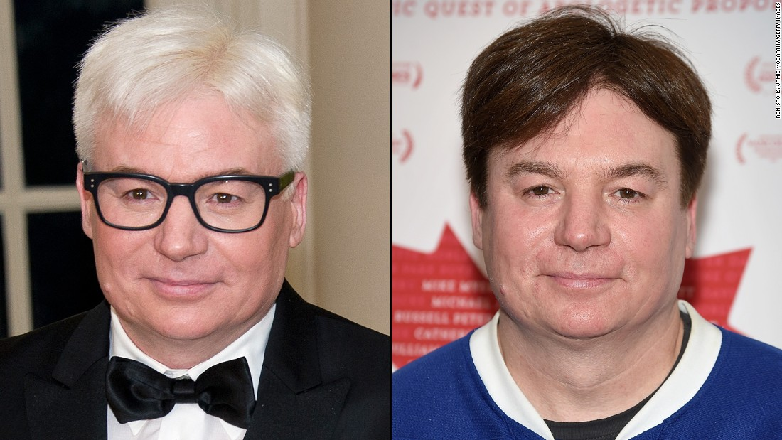 Mike Myers Hair When Did He Become A Silver Fox Cnn