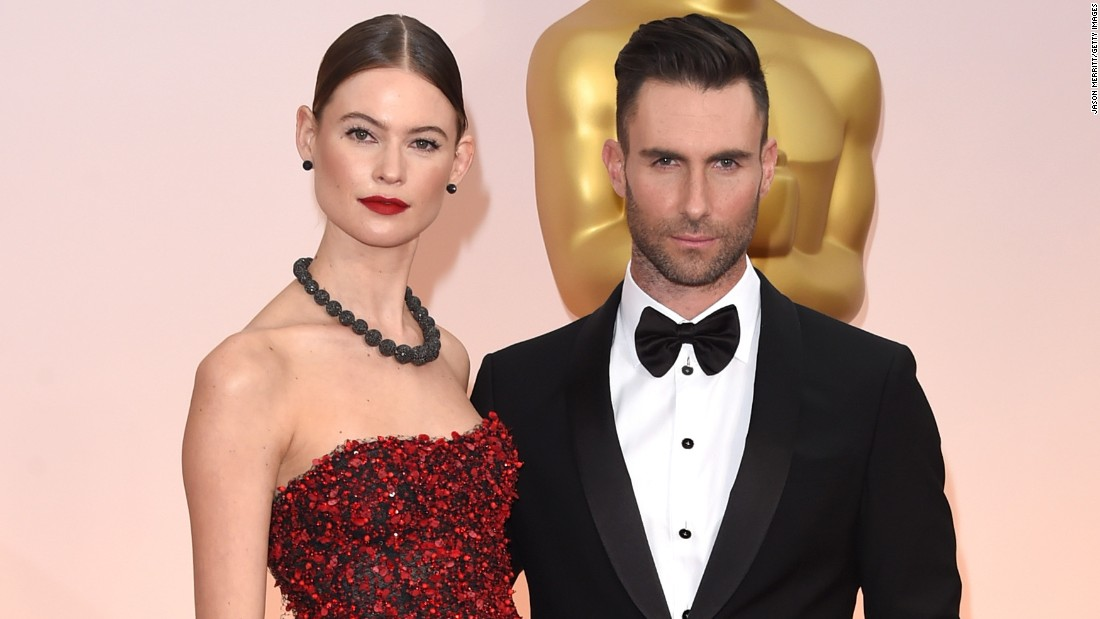 "Victoria's Secret model Behati Prinsloo and singer Adam Levine <a href=""https://www.instagram.com/p/BfeVsn8FIAT/?utm_source=ig_embed"" target=""_blank"">announced the birth of their second child, a girl, in February.</a> Gio Grace Levine joined big sister Dusty Rose who born in September 2016. The couple married in 2014."
