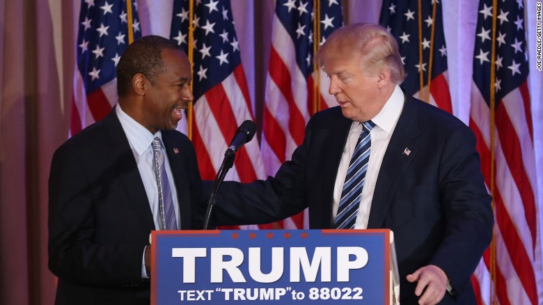 Ben Carson defends Donald Trump's abortion answer