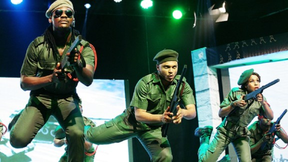 """Austen-Peters says that 10,000 people watched """"Wakaa!"""" over the course of 12 performances around the new year. It was so popular people were offering to pay to stand in the aisles. """"We can rival any of the big institutions in the world,"""" the producer argues, and hopes Nigeria"""