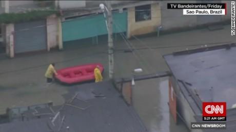 Devastating flood images from Brazil