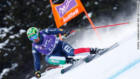 Paris won the previous World Cup downhill in Chamonix, France last month.