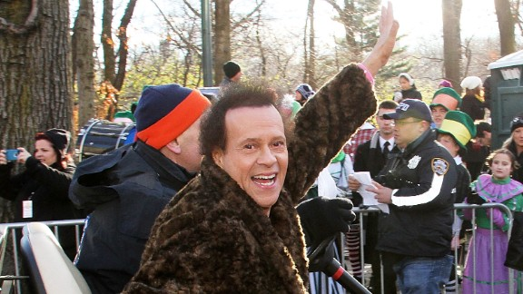 NEW YORK, NY - NOVEMBER 28:  Richard Simmons attends the 87th Annual Macy's Thanksgiving Day Parade on November 28, 2013 in New York City.  (Photo by Laura Cavanaugh/Getty Images)
