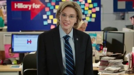 snl clinton morphs to sanders daily hit newday_00003903