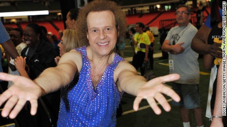 ATLANTA - MAY 01: Richard Simmons attends the 2010 World Fitness Day at the Georgia Dome on May 1, 2010 in Atlanta, Georgia. (Photo by Moses Robinson/Getty Images)