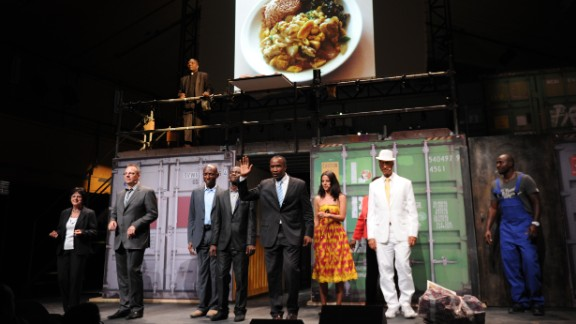 """Directed by Germans Helgard Haug, Stefan Kaegi and Daniel Wetzel, """"Lagos Business Angels"""" brought together businessmen and women from Nigeria and Europe at the Avignon Film Festival. Inspired by a Goldman Sachs report that said Nigeria"""