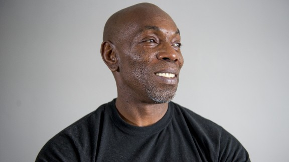 Ricky Jackson stands for a portrait in his apartment on March 1, 2015 in Cleveland, Ohio. Jackson, America's longest-serving wrongfully convicted prisoner, served 39 years and was released through the help of the Ohio Innocence Project.