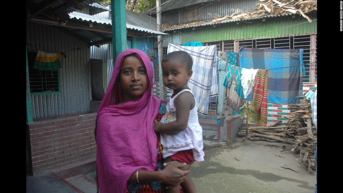 In the rural village of Mirzapur, about two hours' drive from Dhaka, researchers are exploring how the environment affects the gut health of young children, which could affect how they respond to vaccines. Lili and her 16-month-old daughter, Tithi, are participating in the study.
