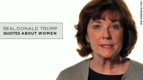 anti donald trump ad women sot ctn_00003815