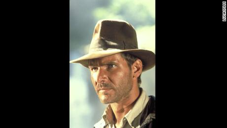 Harrison Ford as Indiana Jones in Raiders of the Lost Ark.