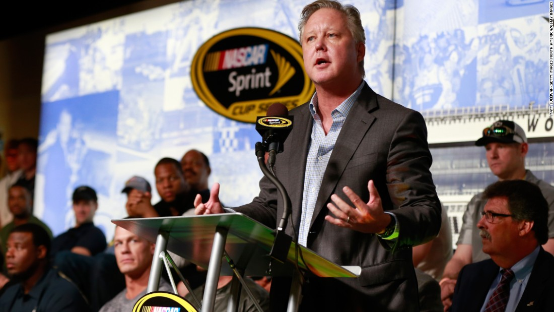 "Trump interpreted an endorsement from NASCAR CEO Brian France as one representative of the entire sport: ""NASCAR endorsed Trump, can you believe that?"" he erroneously said at a North Carolina rally, according to Politifact."