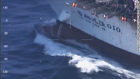Argentina sinks Chinese vessel