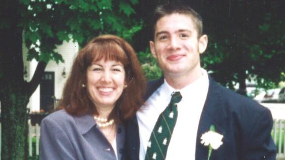 Patrick Risha poses with his mother, Karen Zegel.