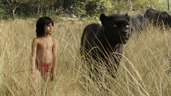 """""""The Jungle Book"""": Technology helped to update this classic kid's tale about man-cub Mowgli and his animal friends. (Netflix)"""