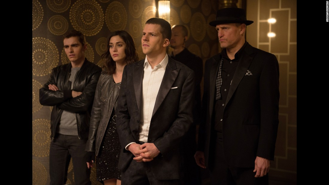 """Now You See Me,"" about a gang of magicians who pull off a heist, was a surprise hit in 2013. In ""Now You See Me 2,"" the gang now has to deal with Daniel Radcliffe as a villainous tech mogul. Don't they know he can cast a spell? Opens June 10."