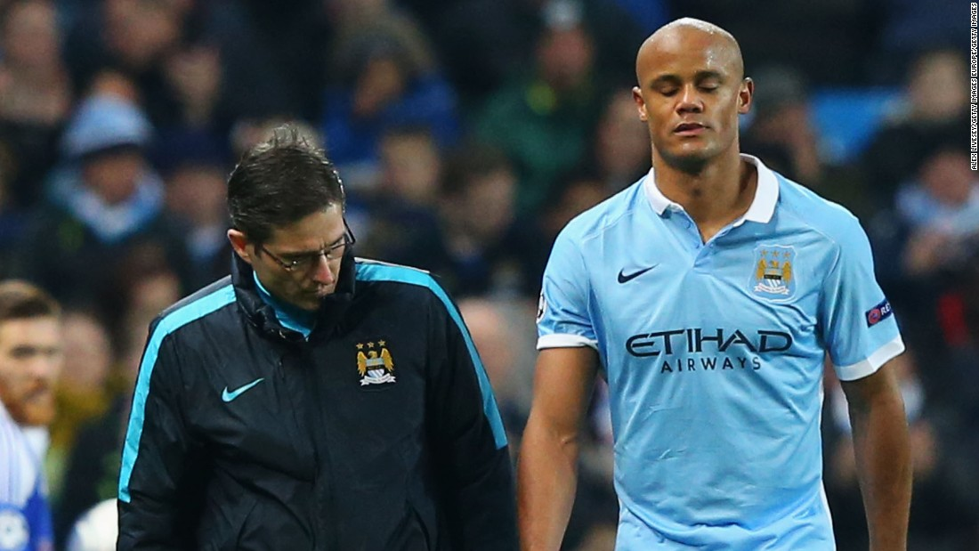 The victory came at a cost though as captain Vincent Kompany trudged off after just six minutes with yet another injury.