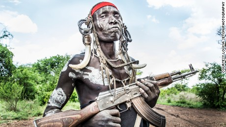 Photos capture some of Ethiopia's vanishing tribes, the Surma people