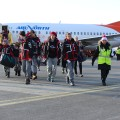Yukon athletes arrive in Greenland