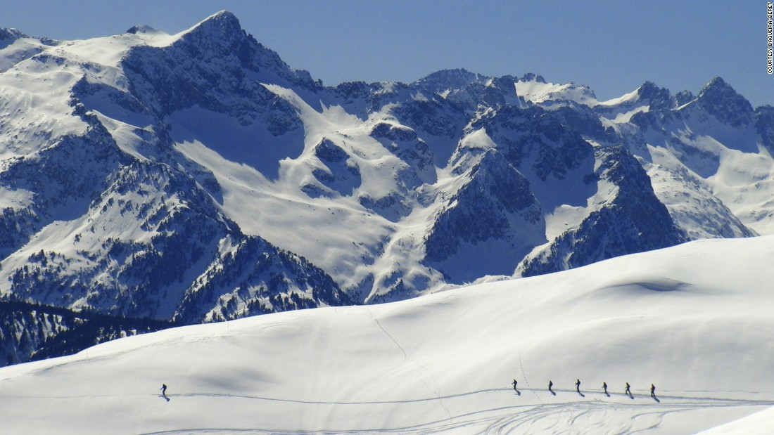 Baqueira-Beret, long cherished by Spanish skiers, is a decent-sized resort -- 150 kilometers of groomed slopes and 35 lifts -- with an outstanding snow record because of the Atlantic influence.