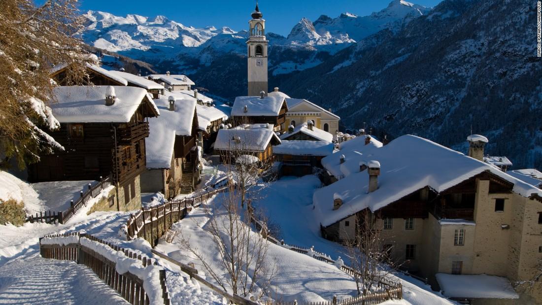10隠スキーリゾートは欧州べき発見
