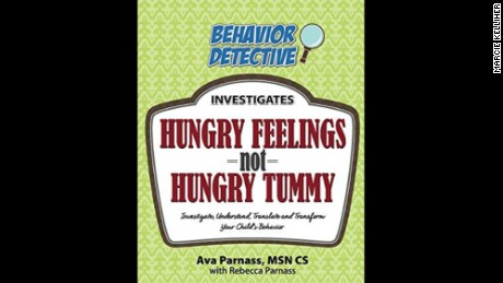 "The book ""Hungry Feelings not Hungry Tummy"" provides tips for parents on raising healthy kids."